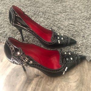 New Cesare Paciotti Heels- Black